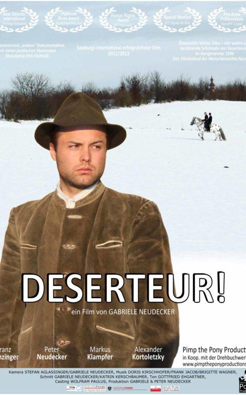 Deserteur Filmplakat 2015